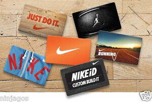NIKE UNDER ARMOUR ADIDAS OAKLEY Gift Cards Lot NO DOLLAR VALUE ...