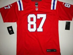 the latest 1a26e ea4bc Gronkowski NWT NE Patriots Nike Throwback Jersey Large Boy's ...