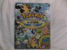 Pok Mon Epic Sticker Collection From KANTO to Alola 9781604382006