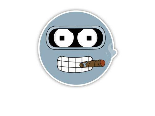 Futurama Bender Cartoon Sticker laptop wall car phone Kids Child