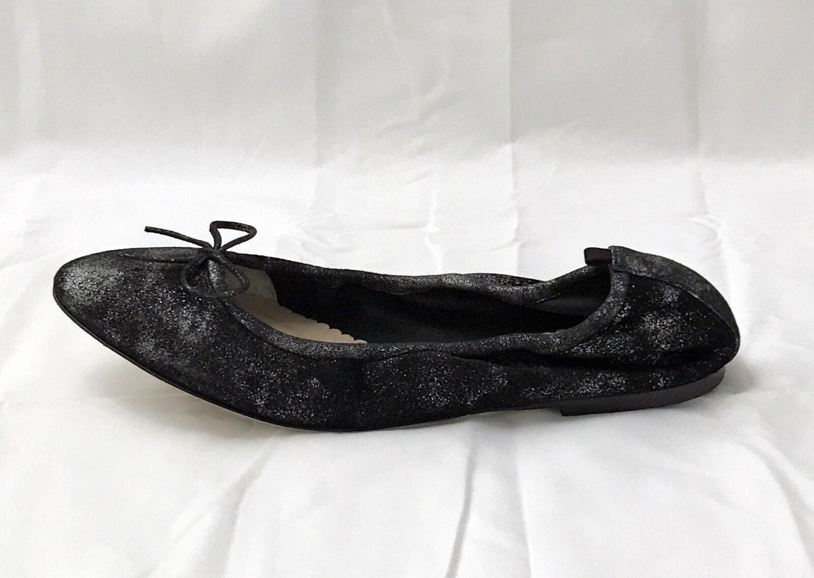 SJP Sarah J Parker Ballet  scarpe Gelsey Flats Anthracite Suede Dimensione 7.5 EUR 37.5  perfezionare
