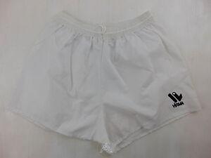 Vintage-80-90-VIRMA-Pantaloncini-L-XL-Bianco-5-Calcio-Shorts-Soccer