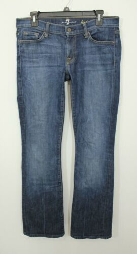 Jeans 7 Low 30 Stretch Rise Taglia For Bootcut All Mankind 0WwZr0q
