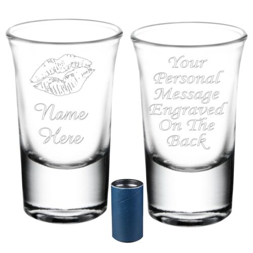Personalised Novelty Shot Glass Uncle Auntie Grandma Christmas Birthday Gift 084
