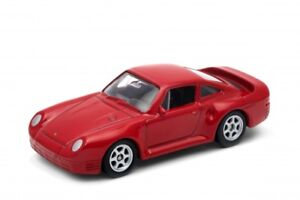 Red 959 Inch Series Porsche Car No52360 Toy 3 Nex 1 64 1 60 Welly jUVpGzMLqS
