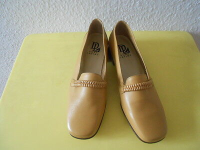 Schuhe Slipper Dora Latina Gr.38 / 39 C Leder TOP
