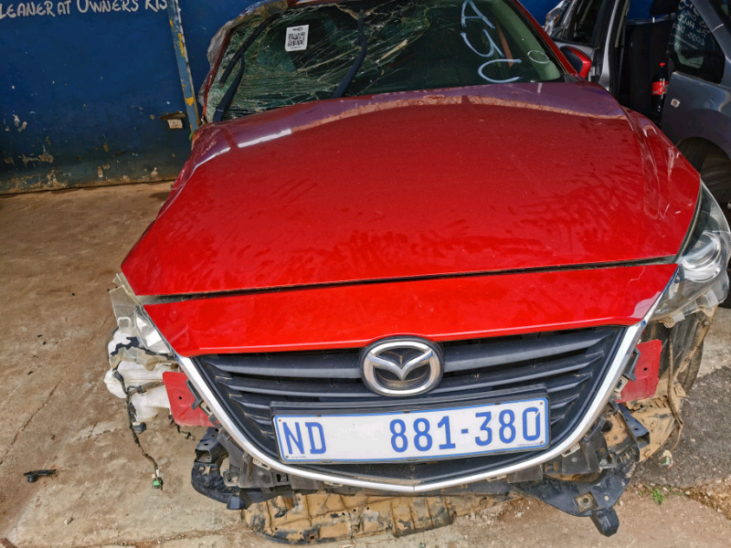 Mazda 3 2013 year model stripping for spares