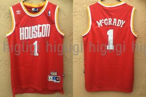 d4001e5faefc NWT Tracy McGrady  1 NBA Houston Rockets Swingman Throwback Jersey ...