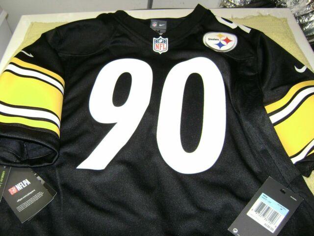 reputable site 4557e 30748 Pittsburgh Steelers Jersey T J Watt # 90 Men Size Medium Nike NFL