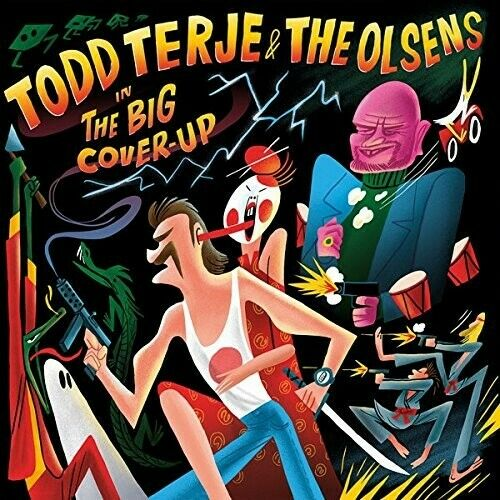 TODD/THE OLSENS TERJE - THE BIG COVER-UP (2LP)  2 VINYL LP NEW
