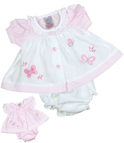 BabyPrem Premature Early Baby Clothes Tiny Baby Dresses White /& Pink 3//5 5//8lbs
