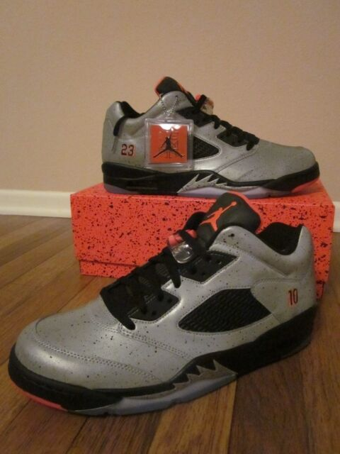 purchase cheap 7a89a ee658 Nike Air Jordan 5 Retro Low Neymar Size 11.5 Reflect Silver Infrared 846315  025