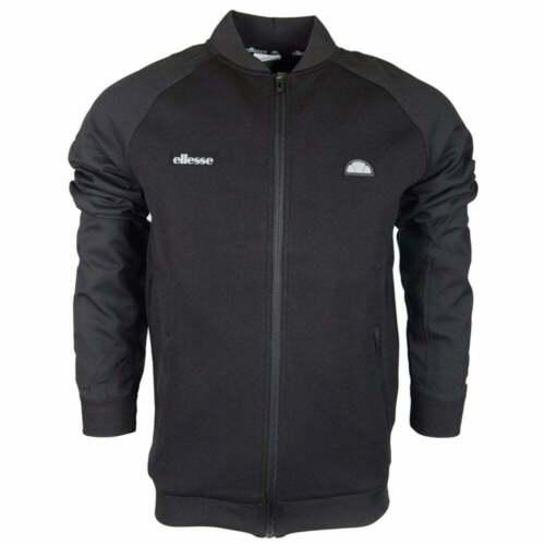 Ellesse Corsican Zip Up Polyester Black Tracktop
