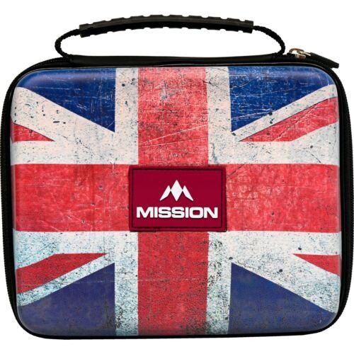 Union Jack Darts Case Wallet Mission Freedom Luxor Holds Assembled Darts UJ