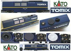 Tomix 6425 Ex 6421 Wagon Pour Nettoyage Rails Motorisé Avec Aspirateur Échelle-n