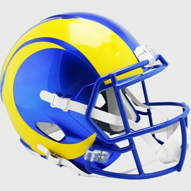 New in Riddell Box Los Angeles Chargers Riddell Speed Mini Football Helmet 2019 with Yellow Mask