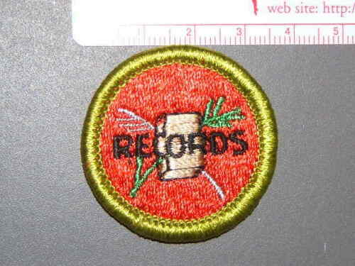 Boy Scout Merit Badge Farm Records circa /'76-/'06 3402N