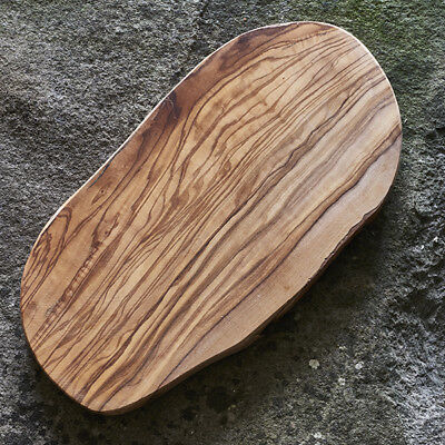 Length 40cm Serving Board Rustic Olive Wood Chopping
