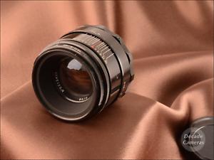 M39 Mount Helios 44 Gloss Black 58mm f2 8 Blade Standard Lens - EXC - 669