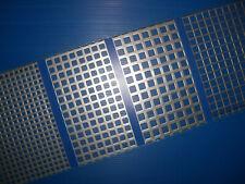Lochblech />  Rv 8-12 BUCHERT  Edelstahl 200 x 200 x 1,5 mm 1.4301 VA