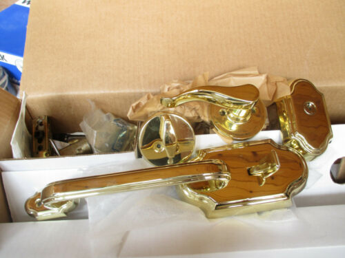 KD B Weiser Keyed Entry Handle Set Brass LA9470 C//C3 LH RLR1 Columbia