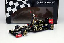 Kimi Räikkönen Lotus E20 #9 Winner Abu Dhabi GP Formel 1 2012 1:18 Minichamps