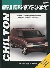 General Motors Astro/Safari 1985-2005 Repair Manual by Chilton (2009, Paperback)
