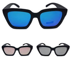 l'ultimo c7d18 5d6d7 Details about sunglasses woman mirror squares cat eye oversize frames black  2018