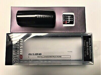 for 5//6MT car C2865-1EA01 Nismo Shift knob 10mm Aluminum Black Anodized Aluminum Specification