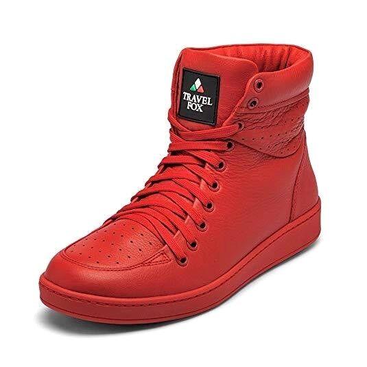 alla moda Travel Fox Fox Fox Uomo Classic 900's Series rosso  Leather Casual scarpe 916101-104  negozio online