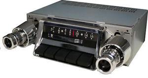 Details about 1957 Chevy Bel Air 57 210 150 Nomad Radio Custom Autosound  AM/FM Slidebar Radio