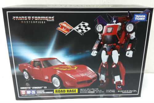 TAKARA TOMY TRANSFORMERS MASTER PIECE MP-26 ROAD RAGE w// COIN