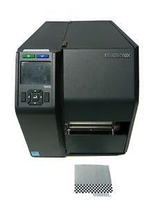 Printronix-T8000-T8204-Thermal-Label-Printer-LAN-USB-PTXTHH104-4x6FedEx-Labels