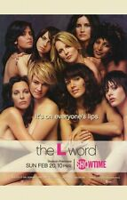 THE L WORD Movie POSTER 11x17 Jennifer Beals Erin Daniels Leisha Hailey Laurel
