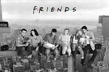 FRIENDS FILMPOSTER OVER MANHATTAN NEW YORK