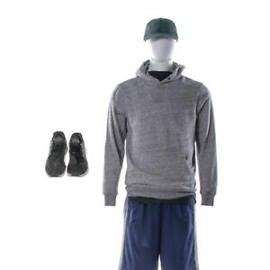 The-Lovebirds-Steve-Screen-Worn-Stunt-Dbl-Level-1-Sweatshirt-Shorts-amp-Shoes-Sc53