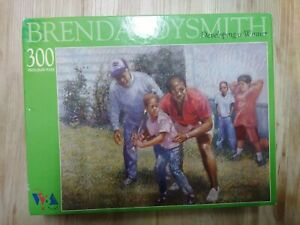Joysmith-Brenda-Developing-a-Winner-African-American-jigsaw-puzzle-300-pc-NEW