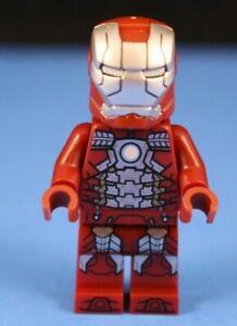 LEGO-MARVEL-AVENGERS-76125-IRON-MAN-Mark-5-Infinity-War-Minifigure-100-LEGO