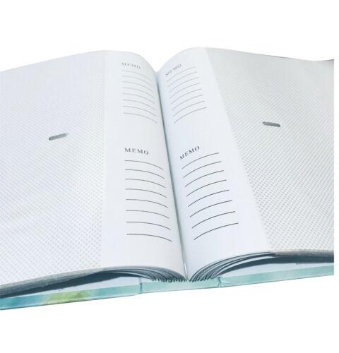 2 X Large Memo Deslizamiento en Photo Album sostener 208/' 6 X 4/' fotos foto álbum notas