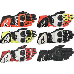 Pick Size//Color 2019 Alpinestars Atom Leather//Stretch Motorcycle Gloves