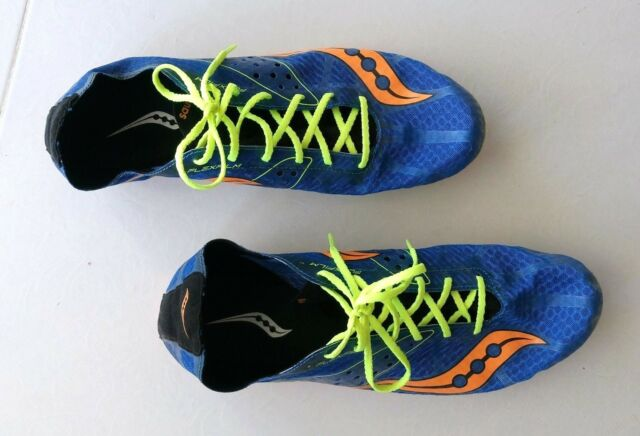 d7ff5256 Saucony Endorphin LD4 Running Track Distance Racing Spike Shoes US Size :13