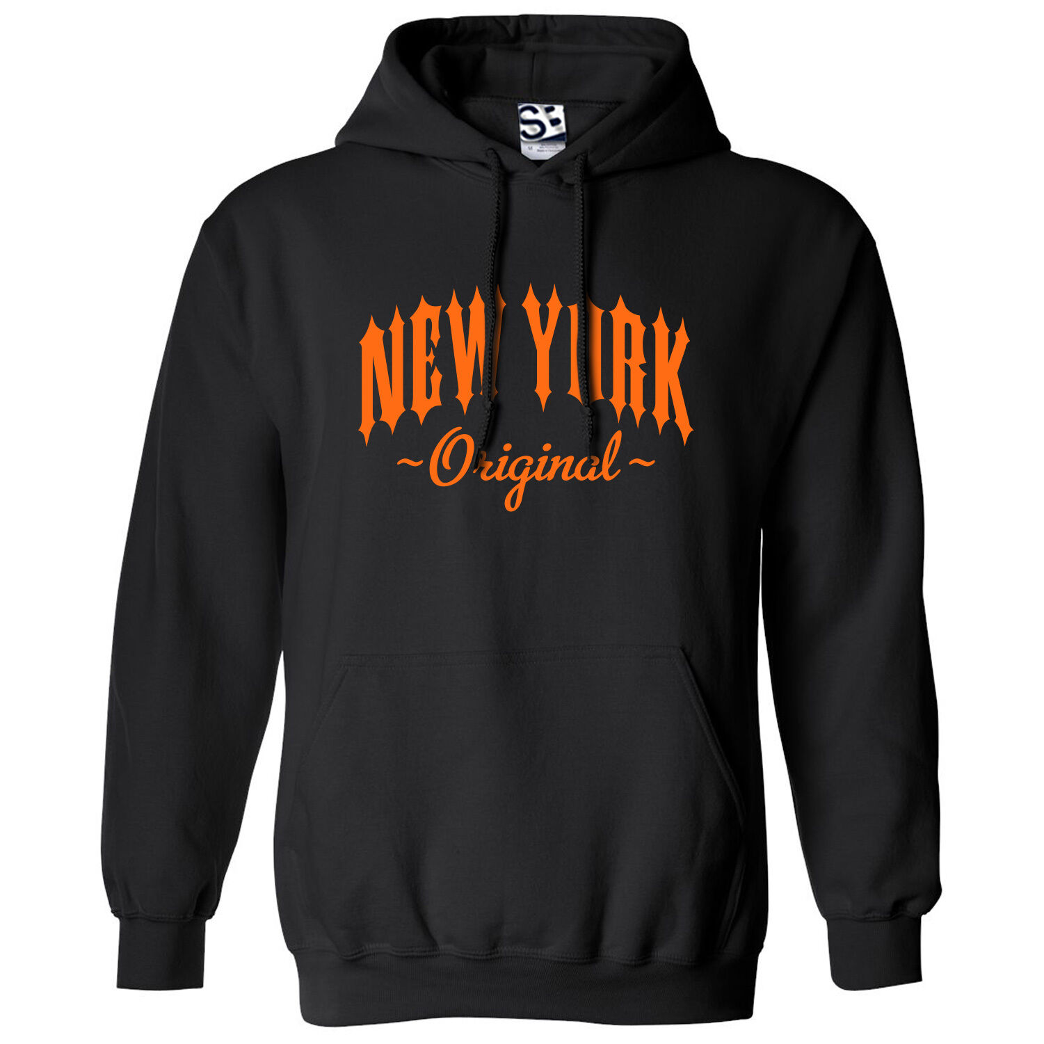 New York Original Outlaw HOODIE - Hooded NY N.Y. I Love Sweatshirt - All Farbes