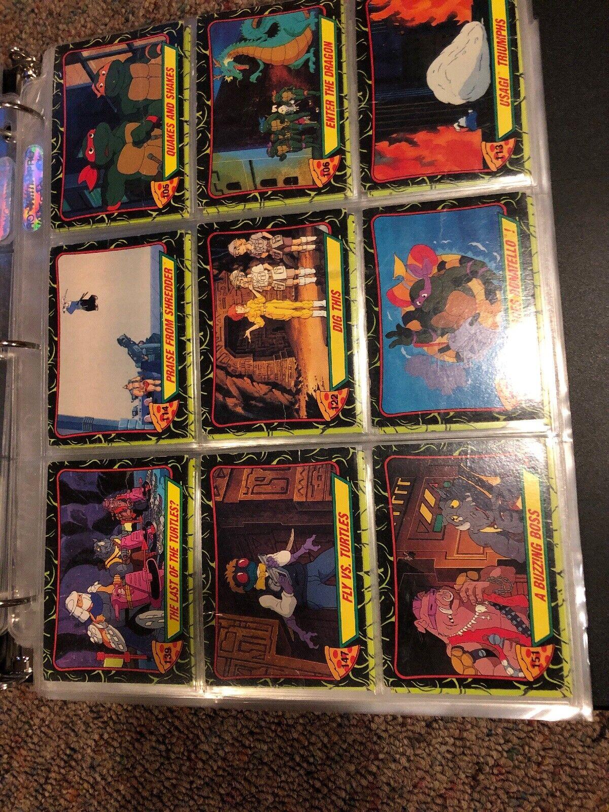 Teenage Mutant Ninja Turtles TMNT vintage file cards 100 + Movie + Cartoon