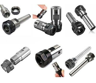 Collet Chuck Motor Shaft Spindle Extension Rod Holder CNC Lathe Milling Tools