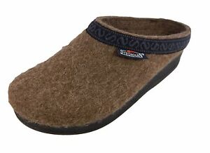 Men's Wool Felt Clog With PolyFlex Sole