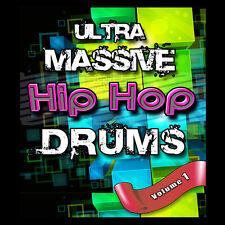 Hip Hop RnB Urban CLAPS SNAPS SNARES KICKS HATS CYMBALS Drum Samples Akai MPC FL