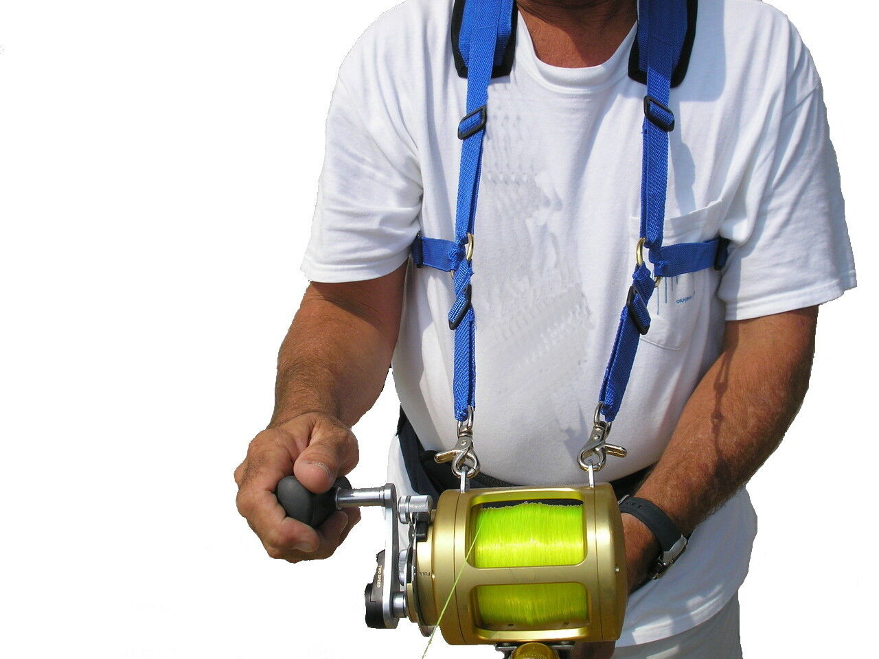 Stand up fishing harness for offshore fishing  and big game reels  various sizes