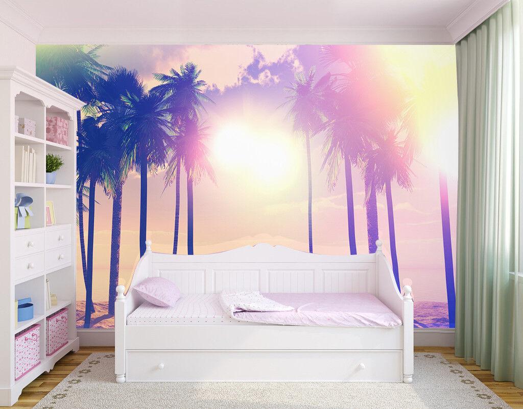 3D Kokossonne 688 Tapete Tapeten Mauer Foto Familie Tapete Wandgemälde DE