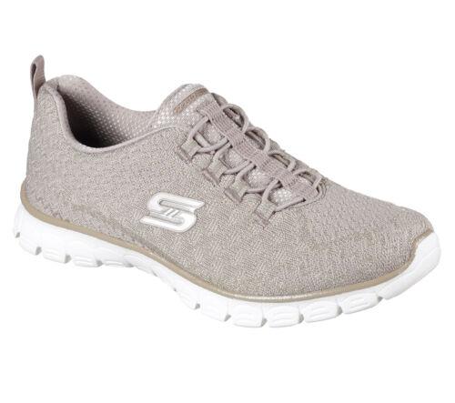 Skechers Estrella Trainers Womens EZ Flex 3.0 Sports Elastic Memory Foam Shoes