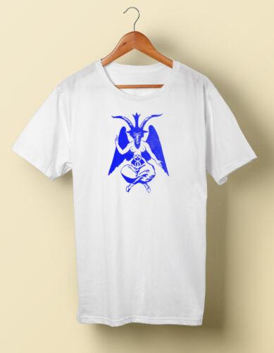 Baphomet Satanic Devil Occult Illuminati T Shirt Tee T S M L XL 2X 3X 4X 5X
